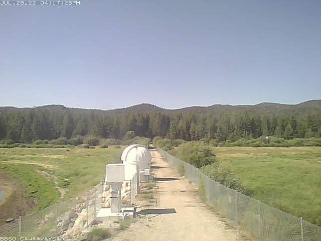 Big Bear Solar Observatory webcam