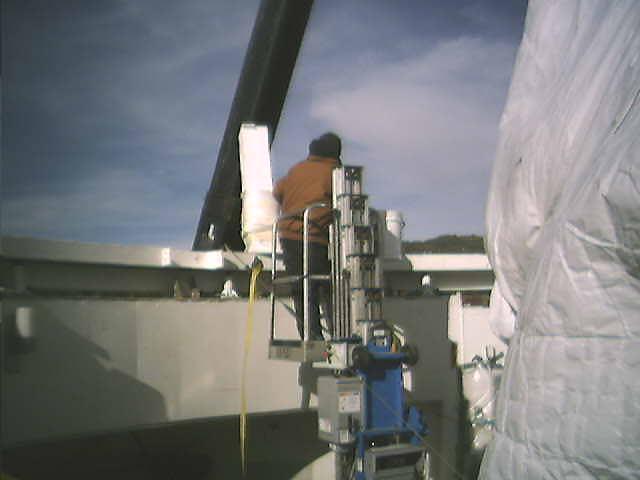 Big Bear Solar Observatory - Dome Blog Section 3